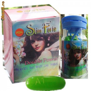 Pastile de slabit Slim Forte - Slim Forte Slimming Capsule - Okazii