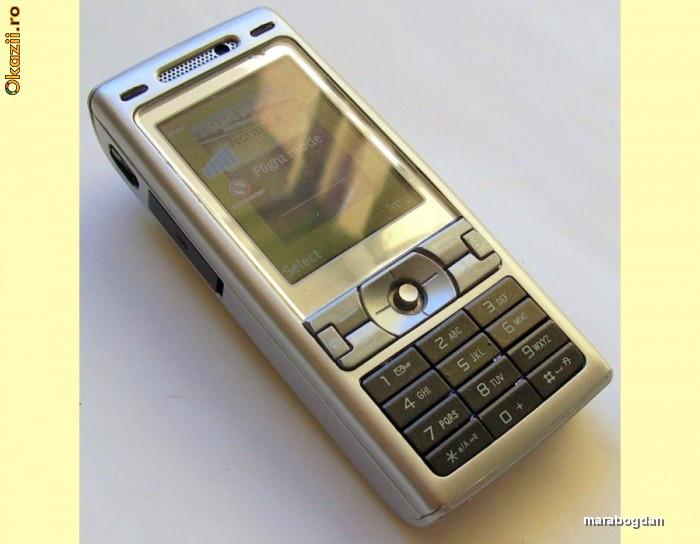 TELEFON SONY ERICSSON K800I ORIGINAL INCARCATOR CABLU DATE foto mare
