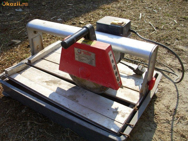Masina electrica de taiat faianta si gresie schimb cu rotopercutor MAKITA BOSCH foto mare