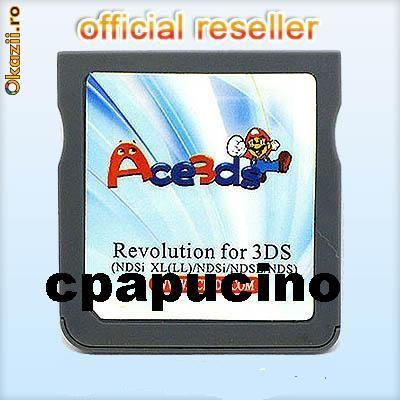 R4i DS - Card Modare Nintendo DS Lite DSi (1.4.3) DSi XL 3DS ultimul firmware 3.0.0-6 (J, E, U,) deblocare n3ds ndsl nds phat slim consola jocuri foto mare