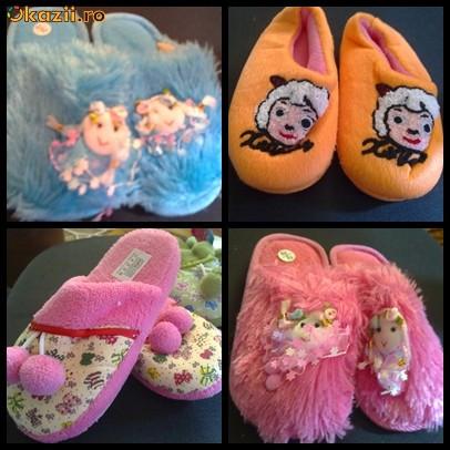 Papuci de casa copii foto mare