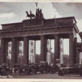 Carti Postale Romania dupa 1918 - Berlin Poarta Bandenburg, masini de epoca