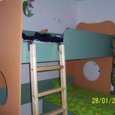 Pat, Pat etajat, Paturi etajate independente pentru copii - Pat dormitor