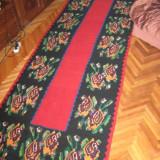 Covor tesut manual 100 % lana din Transilvania - Covor vechi