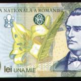 Eminescu, bacnota 1000 lei, 1998