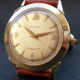 * Ceas HAMILTON AUTOMATIC 'K450' SWISS 10K GF anii '50 - Ceas barbatesc Tissot, Mecanic-Automatic, Analog, 1970 - 1999