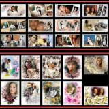 Template-uri PSD pentru fotografii de nunti si botez - NOU - Software Editare video