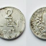 ROMANIA 2 LEI 1951 - EROARE - SURPLUS DE MATERIAL ** - Moneda Romania