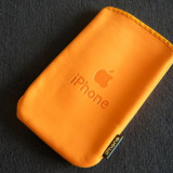 HUSA NEOPREN iPHONE 2G 3G 3Gs - ORANGE - TOC APPLE - Husa Telefon Apple, Portocaliu