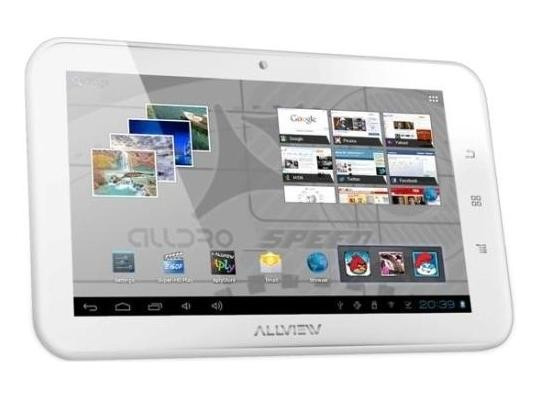 Tableta Allview Alldro Speed SuperSlim alba foto mare
