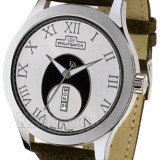 Ceas barbatesc, Casual, Quartz, Piele, Ziua si data, Analog - Philip Watch Liberty, swiss made nou
