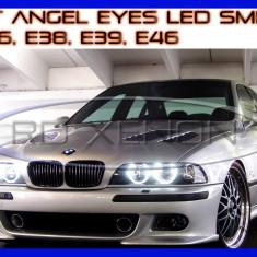 KIT INELE ANGEL EYES - 84 LED SMD 3528 - BMW E36, E38, E39, E46 - CULOARE 6000K ZDM, Universal