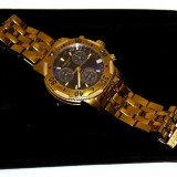Ceas barbatesc Tissot, Lux - sport, Quartz, Placat cu aur, Placat cu aur, Cronograf - Tissot prs 200