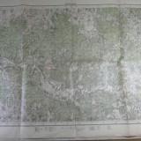 27 - HARTA MILITARA  - ZONA SAVARSIN - INTOCMITA DE SERVICIUL GEOGRAFIC AL ARMATEI 1926 - REPRODUSA DUPA HARTA AUSTRIACA