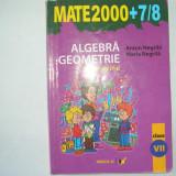 Algebra/geometrie, clasa a VII-a, partea a II-a - Manual Clasa a V-a