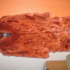 Haina blana - Palton dama, Marime: L, Culoare: Rosu