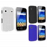 Carcasa / Husa / Grila plastic perforata neagra Samasung Galaxy Gio - Husa Telefon Samsung