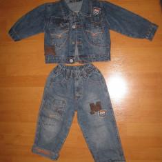 Haine Copii 1 - 3 ani - Costum blugi, aprox. 3 ani
