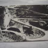 C.P. Serpentine in Cheile Bicazului - Carti Postale Romania dupa 1918