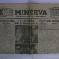ZIARUL MINERVA DIN 31 IULIE 1913