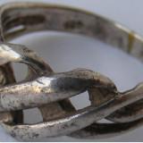 Inel vechi din argint (78) - de colectie