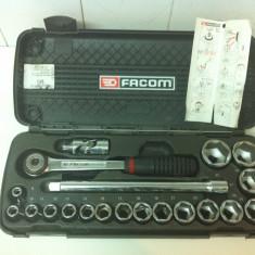 Cheie mecanica - FACOM, Trusa de Tubulare cu clicket - raci '', Marca FACOM S.6PB
