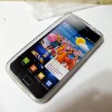 Vand husa silicon TPU Samsung Galaxy S2 transparenta(calitate foarte buna)