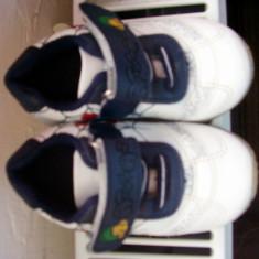 Adidasi cu spiderman nr 14 - Adidasi copii, Culoare: Alb, Baieti