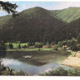 Carte postala(ilustrata)-TUSNAD-Lacul Cuicas