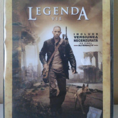 I Am Legend / Legenda Vie (DVD) SIGILAT (ALVio) - Film SF, Romana