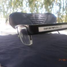 Ochelari Emoprio Armani EA9319 Rama Carcasa - Rama ochelari Emporio Armani, Unisex, Negru, Dreptunghiulare, Rama intreaga