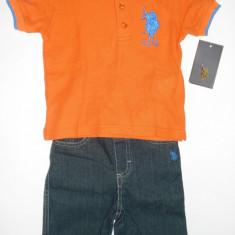 Haine Copii 1 - 3 ani - Set US Polo Assn Original - baieti 18 luni-REDUCERE!