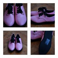 Pantofi H&M (Divided) size 37 - Pantof dama H&m, Culoare: Roz, Roz