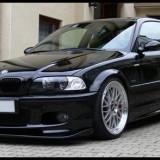 Prelungire bara fata tuning, Bmw, 3 (E46) - [1998 - 2005] - Vand difuzor prelungire bara fata BMW E46 Mpakiet pentru pachet M bara M3 ver 2