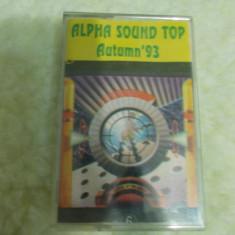 Caseta audio de colectie / Casete audio cu muzica - Alpha Sound Top -AUTUMN 93