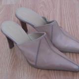 "Pantofi de dama ""rosa lipty"", piele naturala, made in italy, marime 35, pret 45 ron - Pantofi dama"