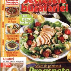 SECRETELE BUCATARIEI NR. 4/2001 - Revista femei