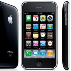 iPhone 3G Apple 16g, 400 ron, Negru, 16GB, Neblocat