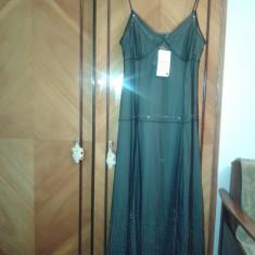Rochie ZARA, de culoare neagra, NOUA, mar L - Rochie de seara Zara, Marime: L, Culoare: Negru