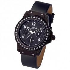 Ceas dama - Ceas Morgan Nou! Curea din piele. Multidial Watch