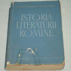 Studiu literar - Istoria literaturii romane - Vol I -Folclorul (1400-1780) -G. Calinescu sa 1964