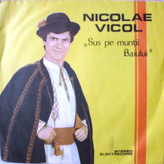 Muzica Populara - NICOLAE VICOL - SUS PE MUNTII BAIULUI (DISC VINIL)
