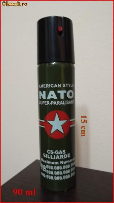 SPRAY  PARALIZANT NATO foto mare