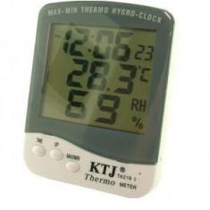 Termometru, ceas si higrometru, cu afisaj LCD/05 114 - Aparat monitorizare