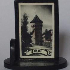 Microvedere-bibelou, Sibiu, R. P. R., circa 1965, format 23 x 35 x 38 mm