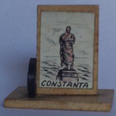 Microvedere-bibelou, Constanta, R. P. R., circa 1955, format 18 x 33 x 35 mm
