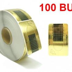 Sabloane constructie unghii false 100 bucati