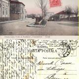 Carti Postale Romania pana la 1904, Circulata, Printata - Galati- Strada Cuza Voda, Institutul Triandafilidi - rara