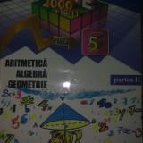 Sorin Peligrad - Mate2000 +10/11 Aritmetica Algebra Geometrie clasa a V a parte II - Manual Clasa a V-a, Alte materii