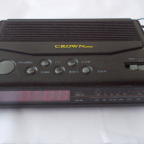 CEAS CU RADIO, MARCA CROWN, MADE IN JAPAN ! - Aparat radio